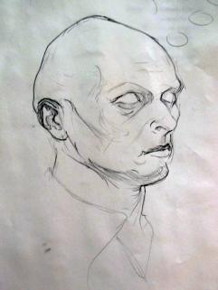 Portrait Study in Pencil 3