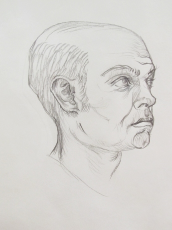 Portrait Study in Pencil 2