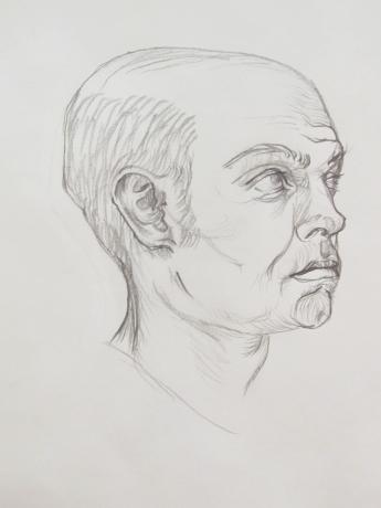 Portrait Study in Pencil 2