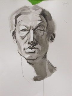 Portrait Study in Ink 2012 (2)