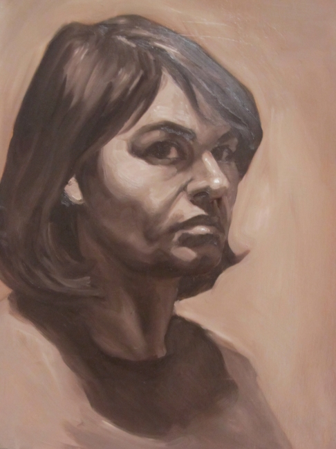 Self Portrait Study 2012